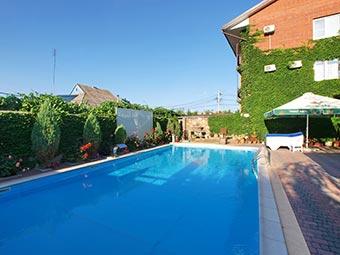 Villa SanRemo Resort & SPA - фото бассейна